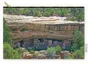 Spruce Tree House Pueblo On Chapin Mesa In Mesa Verde National Park-colorado Carry-all Pouch