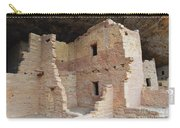 Spruce Tree House Structure Carry-all Pouch