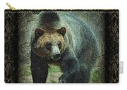 Sq Grizz 6k X 6k Grn Gold Wd2 Carry-all Pouch