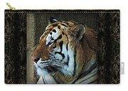 Sq Tiger Profile 6k X 6k Bboo Matt Carry-all Pouch