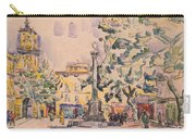 Square Of The Hotel De Ville Carry-all Pouch
