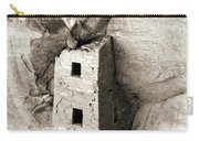 Square Tower House Carry-all Pouch