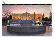 Square With A Fountain Carry-all Pouch