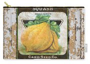Squash On Vintage Tin Carry-all Pouch