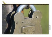 Squire Brass Lock Carry-all Pouch