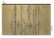 Squire Whipple Truss Bridge Patent Carry-all Pouch