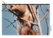 Squirrel Berry Carry-all Pouch