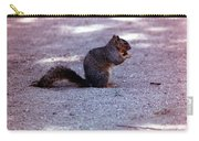 Squirrel Eating A Nut Carry-all Pouch