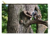 Squirrel Guarding Watering Knot Carry-all Pouch