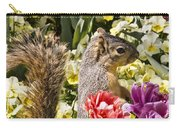 Squirrel In The Botanic Garden-dallas Arboretum V4 Carry-all Pouch
