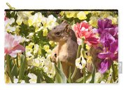 Squirrel In The Botanic Garden-dallas Arboretum V6 Carry-all Pouch