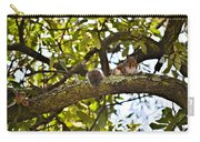 Squirrel On A Branch Carry-all Pouch