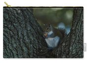 Squirrel With Nut Carry-all Pouch