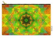 Sri Yantra Variation Mandala Carry-all Pouch