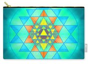 Sri Yantra Variation Carry-all Pouch