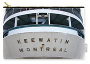 S.s. Keewatin Stern Carry-all Pouch