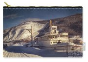 S.s. Keno Sternwheel Paddle Steamer Carry-all Pouch by Priska Wettstein