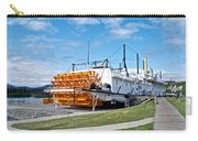 Ss Klondike Sternwheeler From Stern On The Yukon River In Whitehorse-yk Carry-all Pouch