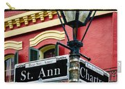 St. Ann And Chartres Nola  Carry-all Pouch