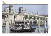 St Augustine Bridge View Carry-all Pouch