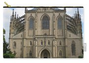 St Barbaras Cathedral Kutna Hora Czech Republic Carry-all Pouch