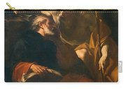 St. Benedict And A Hermit Carry-all Pouch