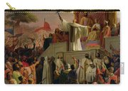 St Bernard Preaching The Second Crusade In Vezelay Carry-all Pouch