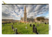 St Beuno Church Carry-all Pouch by Adrian Evans