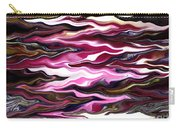 St Brigid Pink Waves Carry-all Pouch