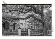 St. Charles Ave. Mansion 2 Bw Carry-all Pouch
