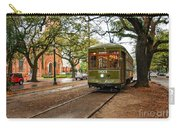 St. Charles Ave. Streetcar In New Orleans Carry-all Pouch