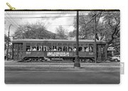 St. Charles Ave. Streetcar Monochrome Carry-all Pouch