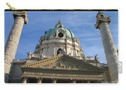 St Charles Church Vienna Austria Carry-all Pouch