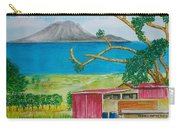 St. Eustatis From St. Kitts Carry-all Pouch