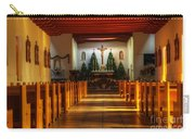 St Francis De Paula Mission Tularosa Carry-all Pouch by Bob Christopher