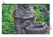St Francis Of Assisi Garden Statute Carry-all Pouch
