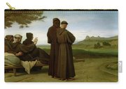 Saint Francis Of Assisi, While Being Carried To His Final Resting Place At Saint-marie-des-anges Carry-all Pouch
