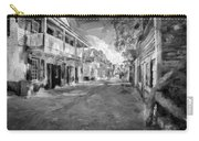 St George Street St Augustine Florida Painted Bw Carry-all Pouch