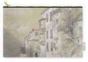 St Giulio Orta Carry-all Pouch by Edward Lear