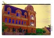 St Henri Poste De Pompiers Bureau De Poste Historic Montreal Art City Scenes Carole Spandau  Carry-all Pouch