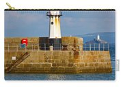 St Ives And Godrevy Lighthouses Cornwall Carry-all Pouch