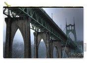 St Johns Bridge Oregon Carry-all Pouch