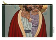 St. Joseph And The Holy Child 239 Carry-all Pouch