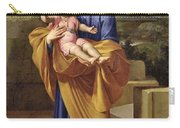 St. Joseph Carrying The Infant Jesus Carry-all Pouch