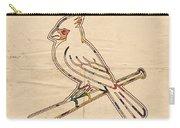 St Louis Cardinals Logo Art Carry-all Pouch