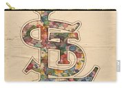 St Louis Cardinals Logo Vintage Carry-all Pouch
