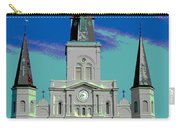 St Louis Cathedral 3 Carry-all Pouch