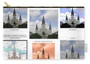 St Louis Cathedral In New Orleans Carry-all Pouch