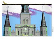 St Louis Cathedral Poster 2 Carry-all Pouch
