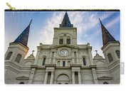 St Louis Cathedral Twilight Carry-all Pouch
